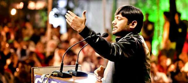 Kanhaiya Kumar to arrive for a fiery interaction